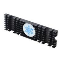 алюминиевая охлаждающая подкладка оптовых-M.2 2280 Компьютерный радиатор Принадлежности Прочный SSD Обновление Охлаждение Эффективная Проводящая тепловая подкладка Замена алюминиевого сплава