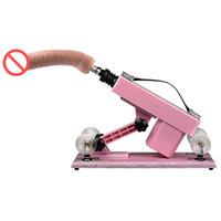yetişkin seks makinesi oyunları toptan satış-Seks Makineli Tüfek Seks Mobilya Otomatik Yapay Penis Sokmak Masaj Silah Aşk Makineleri Çiftler için Seks Ürünleri Yetişkin Oyunu E5-1-100