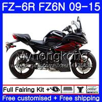 Wholesale black fz6r fairing for sale - Group buy Body For YAMAHA FZ6N FZ R stock black top HM FZ R FZ6 R FZ N FZ6R Fairings