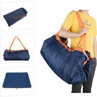 большой открытый мат для пляжа оптовых-Foldable Hiking Beach Large Capacity Portable Mountaineering Travel Bag Waterproof Picnic Mat Multifunctional Outdoor Camping