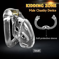 KIDDING ZONE 2020 New Openable Ring Design Sex Toys Sissy Bondage Male Chastity Device Vent Hole Cage