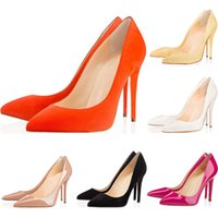 Wholesale stiletto party pumps for sale - 2019 Designer Shoes sneaker So Kate Styles High Heels Shoes Red Bottoms luxury Nude Color Genuine Leather Point Toe Pumps Rubber size