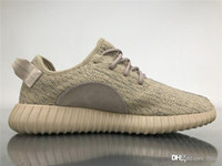 376b41704 2019 Authentic Boots 350S Kanye West Oxford Tan Oxftan Lgtsto AQ2661 Men  Women Running Shoes Turtle Dove Sneakers Sports With Original Box