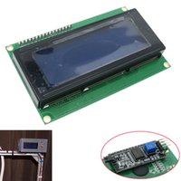 Wholesale arduino i2c modules for sale - Group buy Blue Serial IIC I2C TWI x4 Character v LCD Module Display for Arduino