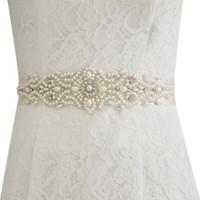 бисерный ремень для свадебного платья оптовых-Бисерные Ремни Для Свадебных Платьев Свадебные Ремни И Пояса Свадебный Пояс Хрустальный Пояс Свадебный Cinturon De Novia CPA1228