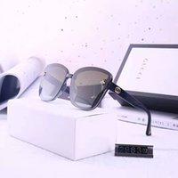 uv kutuları toptan satış-2019 güneş kadınlar güneş gözlüğü carfia oval tasarımcı güneş gözlüğü erkekler için UV koruma acatate reçine gözlük kutusu ile 3 renkler