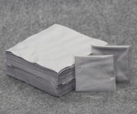 1set=100pcs gray cleaning cloth microfiber glasses cloth sunglasses accessories three colors Eyewear Lens Clothes free shipping