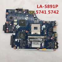 Wholesale intel motherboards for acer laptop online - High quality For G Laptop motherboard NEW70 LA P HM55 full Tested