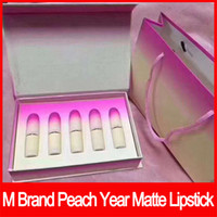 Wholesale 2018 New Lip makeup M Brand lips Makeup Set retro Matte Lipstick lip kit matte lipstick rouge a levres colors