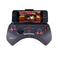 android için bluetooth denetleyicisi toptan satış-IPEGA PG-9025 Gamepad PG 9025 Kablosuz Bluetooth Oyun Konsolu Telefon Joystick Oyun Denetleyicisi Için Android / iOS Smartphone PC TV Kutusu