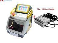 makine tuşları ücretsiz gönderim toptan satış-DHL Ücretsiz Nakliye 120 W CNC Anahtar Kesme Makinesi SEC-E9 Anahtar Yinelenen Kesici Makinesi Yeni 2019 Çilingir Araçları Için Araba Anahtarı Tüm Kayıp