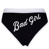 mulheres modelo modelo venda por atacado-Underwear ladies impressão de comércio exterior das senhoras ins modelos de cintura baixa menina esportes modelos 2019 novo underwear das mulheres