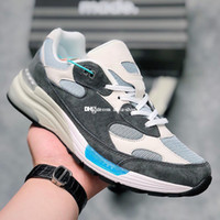 Wholesale sneakers for gym for sale - Group buy Kith M992 Sneaker for Men s Sneakers Mens Ronnie Fieg Running Shoes Womens M992RF Sports Shoe Women s Trainers Man Jogging Training