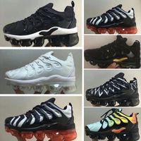 sapatos de bebê brancos para meninos venda por atacado-Nike Air TN Plus Novos Miúdos Plus Tn Crianças Pai Criança Sapatos Casuais Para O Bebê Menino Menina Designer de Moda Sneakers Branco Correndo Ao Ar Livre Trainer Sapato 28-35