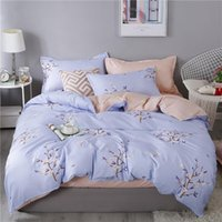 Wholesale bedding sets for resale online - Floral Bedding Set For Girl Elegant Simple Fresh Duvet Cover Queen King Full Twin Single Comfortable Bed Cover with Pillowcase