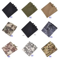 Wholesale utility belt pouches for sale - Group buy Tactical Molle Pouch Utility Magazine Drop Dump Pouch Hunting Airsoft Military Gun Ammo Foldable Pocket Belt Waist Pouch MMA2456