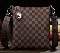 cartera de embrague al por mayor-2019 nuevos hombres maletín bolsa de negocios bolsa de portátil bolsa de mensajero embrague cartera
