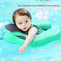 tpu inflables al por mayor-Cubierta impermeable de TPU flotador de natación para bebés Mambo Accesorios de piscina sin aire acondicionado de seguridad mejorados Sólido No flotador inflable anillo