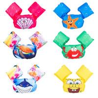 bebekler kolu toptan satış-Çocuk lifebuoy yüzme bebek kol şamandıra yüzme eğitimi çocuk can yeleği ceket mayo havuzu aksesuarları
