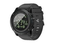 dijital bluetooth akıllı saat toptan satış-Spor Akıllı İzle Erkekler Profesyonel 5ATM Su Geçirmez Bluetooth Çağrı Hatırlatma Dijital Çalar Saat iOS Android Telefon Için