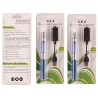 Wholesale ego t ecigarette starter kit for sale - Group buy CE4 Electronic Cigarette Vapor Pens Ego Starter Kit Blister Kits E Cig mAh mAh mah EGO T Battery Ecigarette Vape Kit