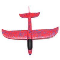 Wholesale glider airplanes kids resale online - 1Pcs EPP Foam Hand Throw Airplane Outdoor Launch Glider Plane Kids Gift Toy CM Interesting Toys