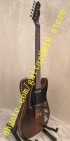 строить гитары оптовых-гитара из розового дерева Джордж Харрисон Мастер, построенная Полом Уоллером, корпус из розового дерева с шеей и грифом