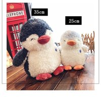 Wholesale penguin stuff toys for sale - Group buy 2019 new Penguin baby stuffed toys cm cm Cuddly Comforting Stuffed Doll Penguin Baby Companion Sleeping Plush Dolls Toys Novelty piece