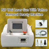 Wholesale portable q switch nd laser for sale - Group buy Best selling portable tattoo removal laser machine q switch nd yag laser CE approval with factory price