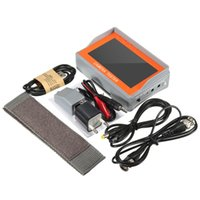 Wholesale video lcd cctv resale online - 4 V TFT LCD Audio Video Security Tester CCTV Camera AHD UTP Test Monitor EU Plug