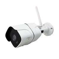 wireless security cctv system großhandel-Drahtloses Überwachungskamera-System 1080P IP-Kamera Wifi Sd-Karte 4CH Audio-CCTV-System-Videoüberwachungs-Installationssatz im Freien Camara