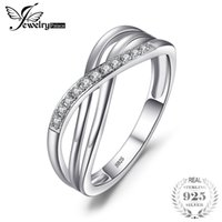 Wholesale 5.25 cluster rings for sale - Group buy 25 sterling silver jewelry JewelryPalace Infinity Love Romantic Anniversary Wedding Promise Ring Sterling Silver Jewelry Fashion Birt