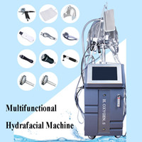 Wholesale needle free mesotherapy machine for sale - Group buy 10 IN home microcurrent facial machines mesotherapy needles device rf needle free mesotherapy machine with handles