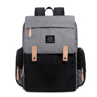 Wholesale nappy waterproof resale online - New Mommy Backpacks waterproof Nappy Bags Mother Maternity Diaper Backpack Large Volume Outdoor Travel Bags Organizer Tote colors C5711