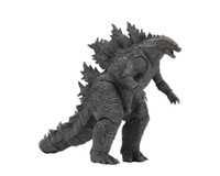 Wholesale toys godzilla resale online - 7 inch NECA Movie King of the Monsters Godzilla Action Figure Monster Model Toys for Kids