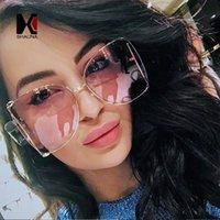 ingrosso perle veneziane-vendita all'ingrosso Oversize Mezza cornice donna farfalla occhiali da sole veneziana decorazione perline gambe moda femminile sfumature sfumature lente UV400