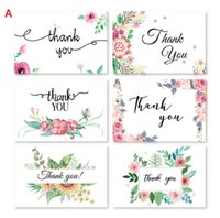 6 Card 6 Envelope Per Set Cartoon Mini Greeting Thank You Card Birthday Christmas Gift Card Envelope Writing Paper Stationery Wholesale