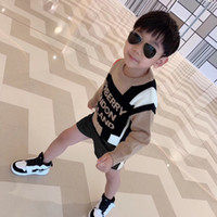 Wholesale cute boy sweaters resale online - Autumn Baby Boys Girls Sweaters Winter Kids Boys Knit Sweater Girls Ripped Comfort warmth Sweater Toddler Clothes