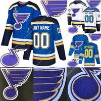 Wholesale drill s resale online - St Louis Blues Hot drilling version jerseys Vladimir Tarasenko Ryan O Reilly Binnington Schwartz David Perron hockey jersey