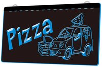 Wholesale pizza lights for sale - Group buy LS1056 b Pizza To Go Delivery Service NEW Neon Light Sign jpg Decor Dropshipping colors to choose