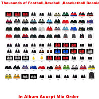 Wholesale basketball team beanie for sale - Group buy Team Basketball Baseball Football Beanies Sports Women Men Beanies Thousands of Models Album Offered