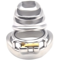 Wholesale men cock steels sex for sale - Group buy Stainless Steel Cock Super Small Chastity Cage Ventilation Cage Bndage Fetish Device Penis Sex Ring for Men G7 A
