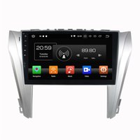 Wholesale dvd radio for toyota camry resale online - 2 din Android Octa Core quot Car DVD Radio GPS Head Unit for Toyota Camry With GB RAM GB ROM Bluetooth USB Mirror link