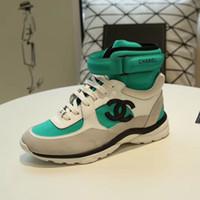 melhores sapatos de moda para homens venda por atacado-Novos sapatos de grife de moda flats casuais sapatos de skate de alta-top de luxo dos homens e mulheres correndo calçados esportivos botas de futebol Melhor qualidade
