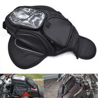 Wholesale motorbike tank bag resale online - For Motorcycle Luggage Case Tank Bag Motorbike Saddle Bag Oil Fuel Tank Bag for Suzuki K1 K2 K3 K4 K5 K6 K7 K8 GSR600 GSR750 DL650