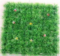 Wholesale boxwood mats for sale - Group buy 25 cm of Artificial plastic boxwood mat the topiary tree Grass Lawn for garden home wedding decoration