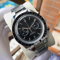 2020 New Moonwatch Chronograp 311.30.44.51.01.002 Black Dial Miyota Quartz Mens Watch Stainless Steel Bracelet Watches Hello_watch 7 Color