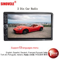 Wholesale power dvd camera for sale - Group buy SINOVCLE Car Radio MP5 Din Bluetooth HD quot Touch Screen Stereo V FM ISO Power Aux Input SD USB With Without Camera car dvd