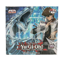 Wholesale card game yugioh resale online - 288 Yugioh English Version Classic Collection Of Full Cards Exquisite Copper Plate Paper Three Miracles Blue Eyes White Dragon