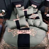 conjuntos de cama roxa em tamanho completo venda por atacado-Têxteis para o lar dos desenhos animados roxo Olá kiy roupa de cama para as crianças Quilt Duvet Cover Travesseiro Conjuntos de Cama Gêmeo Completa Queen Size